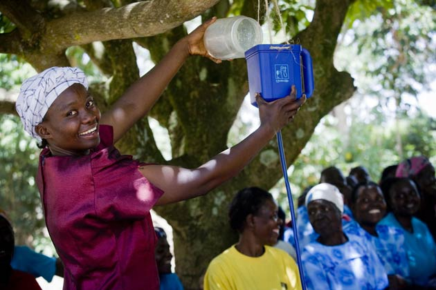 Jaguar Land Rover has confirmed support of its 50th Global carbon dioxide offset project in 5 years, the innovative LifeStraw project which is providing safe drinking water in Kenya.