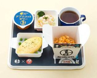 For the sixth installation of JAL's AIR SERIES - a string of tie-ups with popular Japanese restaurants to recreate their signature dishes for in-flight meals, the airline has partnered well-known western restaurant Taimeiken in Nihonbashi, Tokyo. Established in 1931, Taimeiken serves a wide variety of western-style dishes and is most well-known for its Dandelion Omelet Rice - an all-time favorite meal that was developed independently in Japan.