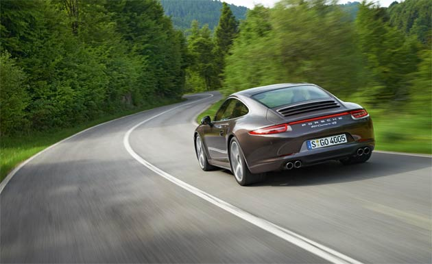 The new Porsche 911 Carrera with all-wheel drive will make its first public appearance at the 2012 Paris International Motor Show in September ahead of arriving in UK Porsche Centres towards the end of the year.