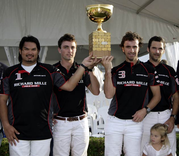 The Polo Team of watch brand Richard Mille wine the Deauville Gold Cup.