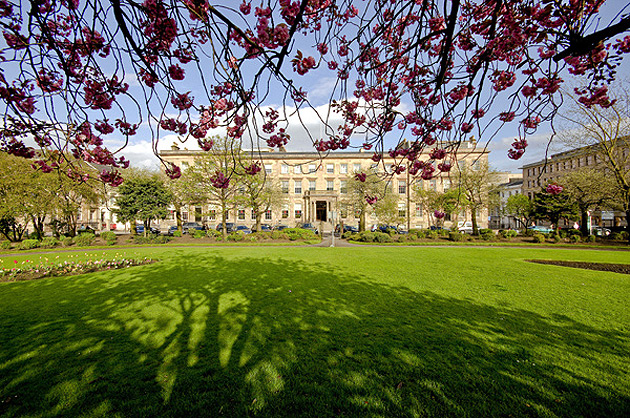 Multi-award winning Blythswood Square, set in the heart of Glasgow, is the only AA 5 star hotel in the city. Lovingly restored by The Town House Collection, this splendid, landmark property, commands one side of Blythswood Square, a lovely, green space in the city centre.