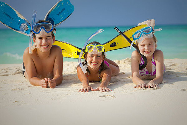 Special Family Offers From Rasdhoo Divers, At The Kuramathi Island Resort, Maldives.