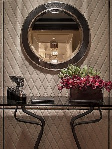 The suite is designed as a collaboration between the masterful minds at St. Regis Hotels & Resorts, part of Starwood Hotels & Resorts, and Bentley Motors, providing guests with the luxury, craftsmanship and style associated with both renowned international brands. The Bentley Suite joins The Dior Suite and The Tiffany Suite as part of the exclusive collection of Designer Suites at the hotel, built by John Jacob Astor IV in 1904, and follows on the heels of a global partnership between Starwood's Luxury Brands and Bentley Motors.