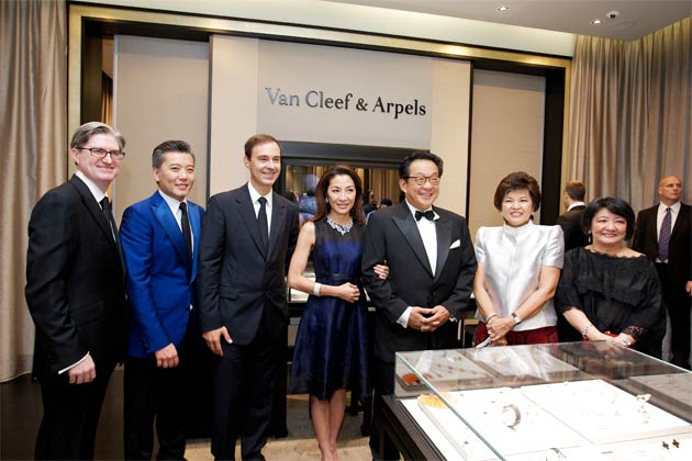 Along with the attendance of Brice Baudoin (President for Asia Pacific), Jonathan King (Managing Director, Southeast Asia), is the exceptional presence of Dato' Seri Dr Ng Yen Yen (Minister of Tourism for Malaysia), Tan Sri Dato' Dr Francis Yeoh (Group Managing Director, YTL Corporation Berhad ) and enchanting star Datuk Seri Michelle Yeoh.