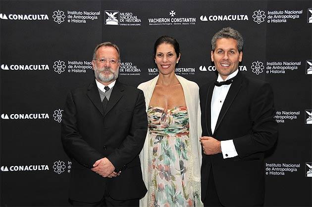 Master Salvador Rueda Smithers, Valeria Rochon and Julien Marchenoir
