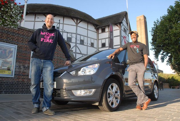 """The producers of """"Muse of Fire"""" embark on a Shakespearean themed road trip supported by Ford."""