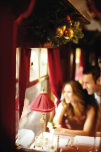 For one day only on Thursday, 6th December, the bedecked vintage 1920's carriages of the British Pullman will be home to an array of the best of British luxury retailers, displaying a selection of their products and offering advice for festive gift ideas.