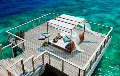 With the goal of living in harmony with the local environment, Dusit Thani Maldives is focused on green energy solutions. Biodegradables are used for composting, fertilising and landscaping while staff do their part by cultivating a herb and vegetable garden lowering the carbon footprint and reducing the reliance on imported produce. To ensure minimal impact on the environment, the resort invested in state of the art engineering for optimum energy and resource efficiency.
