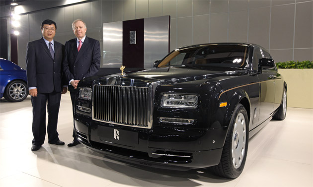 Rolls-Royce Motor Cars announce the single largest order of Phantom Series II in the Asia Pacific region.