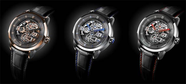 Christophe Claret presents the Soprano tourbillon minute repeater with four cathedral gongs 2