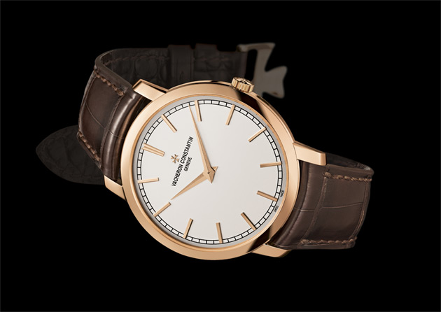 The elegant Vacheron Constantin Patrimony Traditionnelle timepiece enjoys a new 41 mm case housing an ultra-thin Calibre 1120 and complies with the new Hallmark of Geneva.