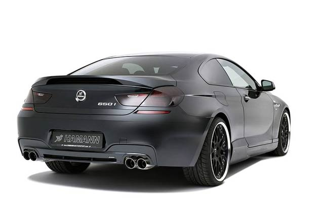 After the presentation of the first personalisation programme for the BMW 6-series (F12 & F13) by Hamann-Motorsport in 2011, the German tuner has now developed exclusive parts for models with the M aerodynamic package.