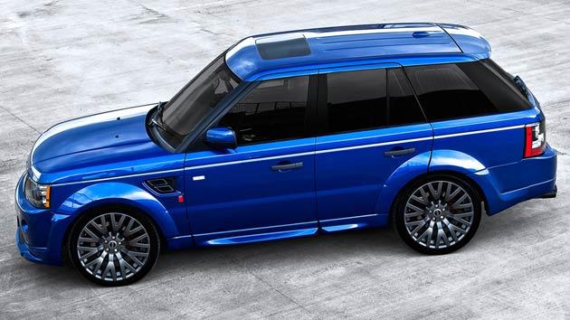 Kahn Design Reveals Stylish Bali Blue RS300 Cosworth Range Rover