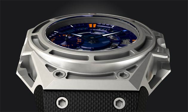 Linde Werdelin unveils the SpidoLite II Titanium Blue in a limited collection of 100 pieces each.