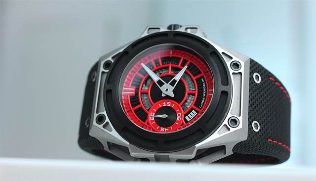 Linde Werdelin SpidoLite II Titanium Red is the second watch launched in a new family of three.