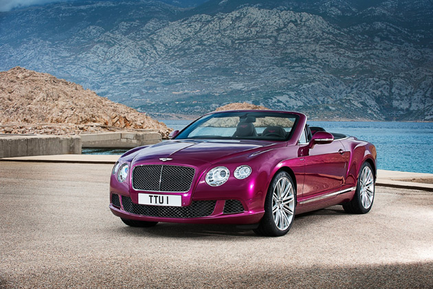 The Continental GT Speed Convertible, the new open-top performance flagship from Bentley.
