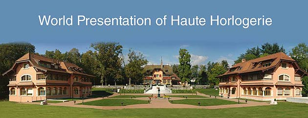The next World Presentation of Haute Horlogerie will be hosted by Franck Muller in Genthod, Geneva