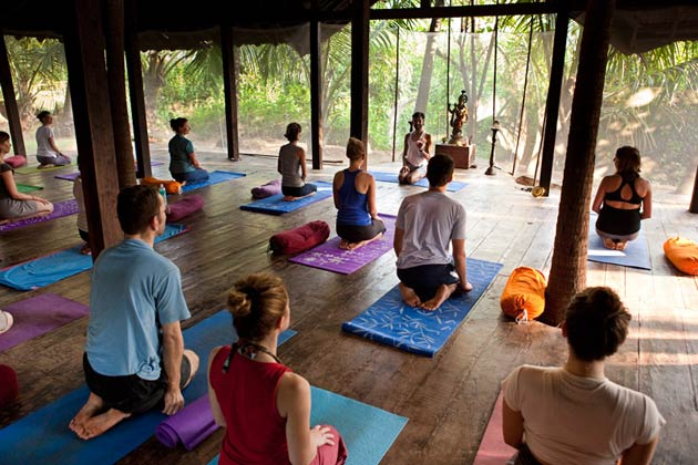 Complete Relaxation at the Ashiyana Yoga & Spa village in Goa