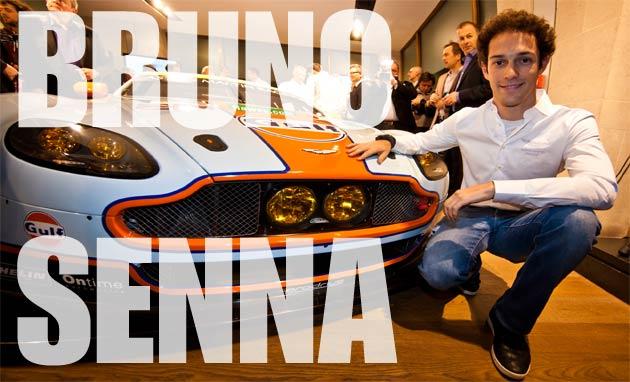 Exclusive Luxurious Magazine Interview With Bruno Senna, Aston Martin Racing