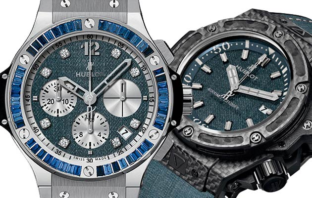 "It's In The ""Jeans"" For New Hublot Watch Collection"