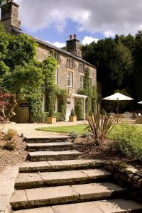Hipping Hall defines itself as a luxury 'restaurant with rooms' and the well informed come from all around.