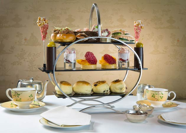 The FUSION afternoon tea is inspired by Eric's travels and his discovery of unusual and unexpected flavours and ingredients. Working closely with Executive Chef Simon Young, the two have united their creative culinary minds to deliver a refreshing twist on this time-honoured tradition.