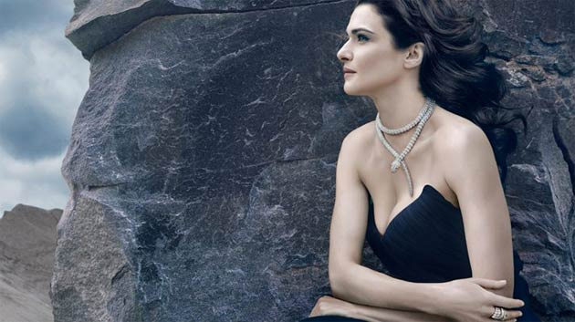 Actress Rachel Weisz smoulders as a latter-day Cleopatra in Bulgari's Serpenti Eternal Beauty Collection.