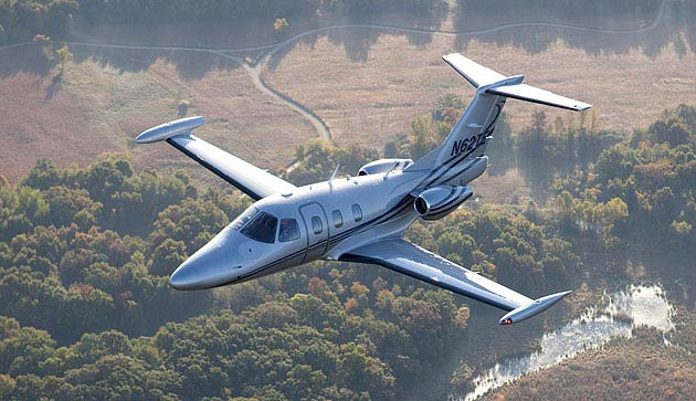 The Eclipse 550 Twin-Engine Exective Jet powers in readiness for first delivery
