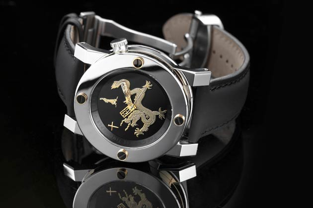 A private watch collection enhanced with some Asia influences.