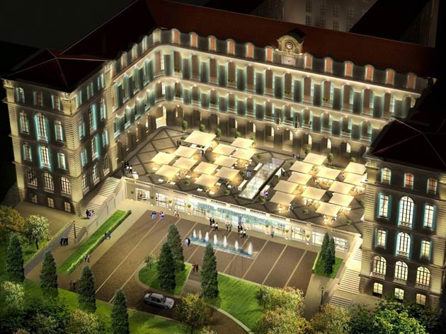 The InterContinental Marseille – Hotel Dieu equally hosts an array of events in its 1,000 m2 conference centre. In addition, its cultural centre will serve as a showcase for its ancestral, architectural heritage.