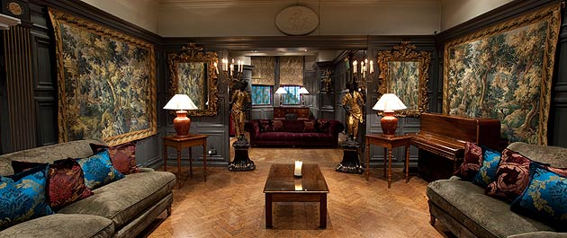 If corporate chains aren't for you, then a heady mix of eccentricity and tradition awaits in this SW7 townhouse. A stone's throw away from Hyde Park, the shops of Knightsbridge and London's best museums lies The Gore hotel; a rock and roll legend.