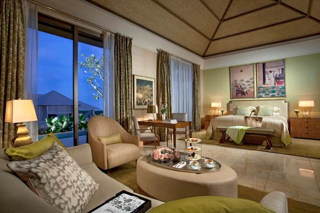 With three luxury properties set within 30 hectares along the Nusa Dua coastline, guests will be subjected to opulence, extravagance and extremely high levels of service.