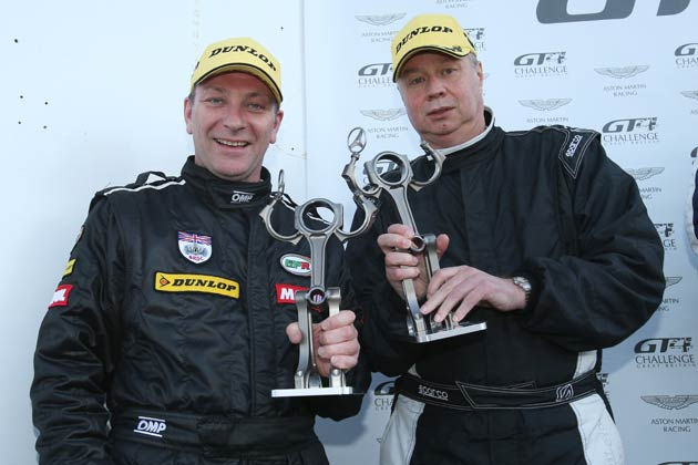 56-year old Englishman, Kevin Norville, races for the Track-club.com team in the Aston Martin GT4 Challenge alongside Calum Lockie in the no.27 Vantage GT4 car.