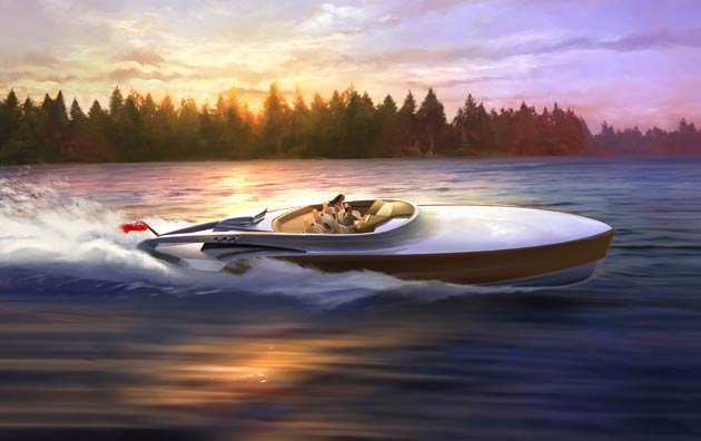 Claydon Reeves Launches Spitfire-Inspired Aeroboat