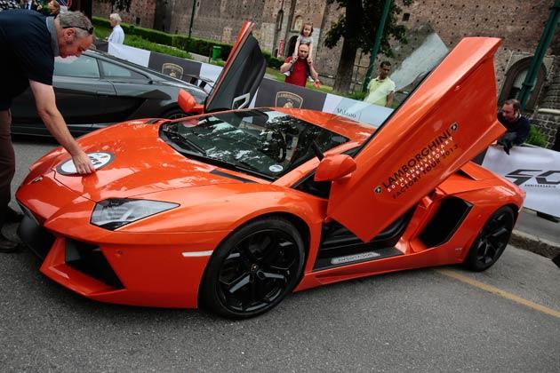 The Lamborghini 50th Anniversary - Grande Giro