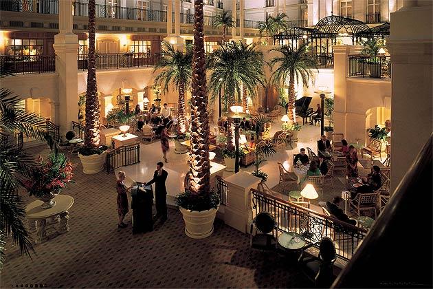 Enter The Winter Garden At The Landmark Hotel 7