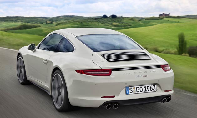 Porsche celebrate 50 years of the 911 coupé with a commemorative 50 Years Edition 4