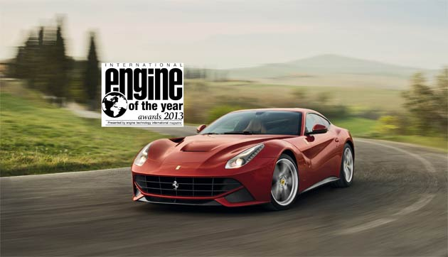 For the third year in a row, Ferrari have won at the International Engine of the Year Awards