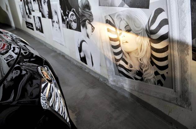 London's Most Stylish Parking Spaces, Courtesy of Artist Simon Claridge