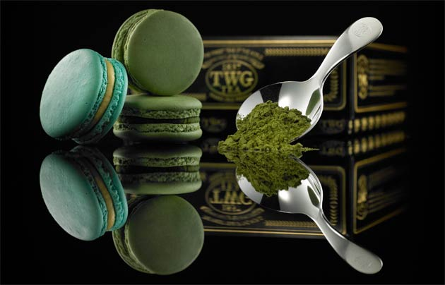 Made with a crisp Matcha almond shell, the Matcha Macaron is filled with a luxuriously smooth Matcha-infused ganache