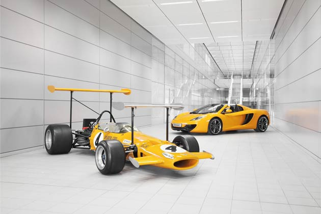 McLaren Celebrates 50 Years for race wins at the highest level