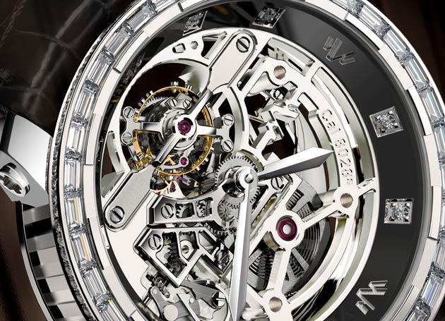 DeWitt Twenty-8-Eight High Jewellery Skeleton Tourbillon