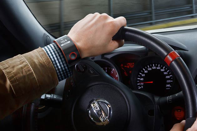 The Nissan NISMO Watch is the first smartwatch to connect driver and car