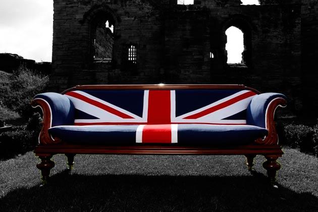 William IV Union Jack sofa