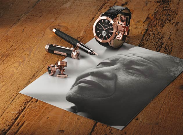 Montegrappa to produce a customised NeroUno based Nelson Mandela limited edition range of pens, watches and cufflinks.