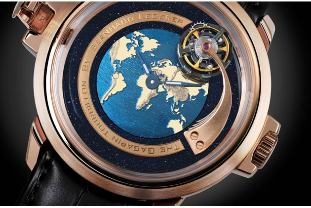 BLU (Bernhard Lederer Universe) Gagarin Tourbillon