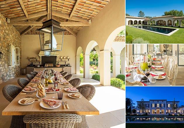 La Bergerie, a rebuilt 17th century villa within the Terre Blanche Golf & Spa Resort