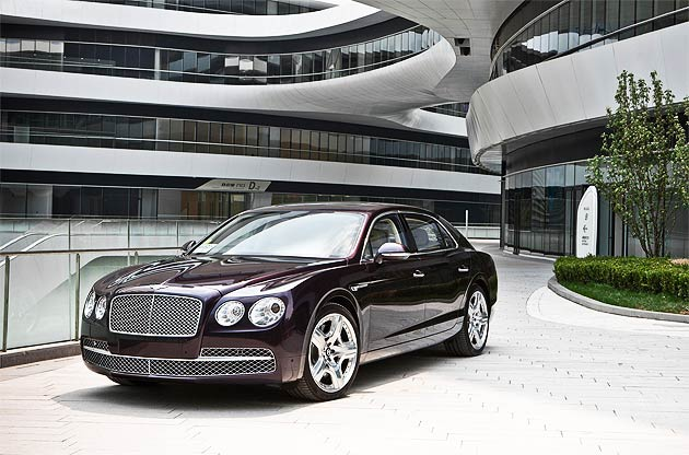 Bentley's Flying Spur and furniture collection make Italian debut