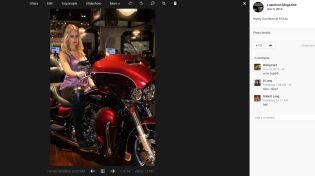 The Simone Zeffiro Harley Davidson Gallery