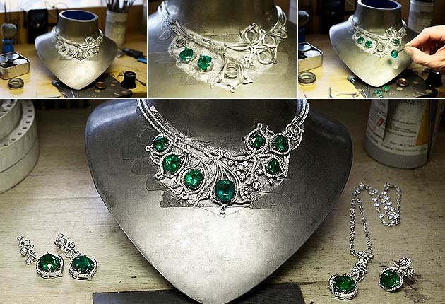 Boodles unveil a new suite of High Jewellery called Greenfire